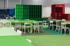 Aménagement intérieur de l'entreprise Combiwerk aux Pays-Bas par i29 Architects //  © i29
