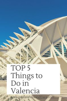Top Things to Do in Valencia, Spain