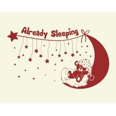 Style and Apply Already Sleeping Wall Decal