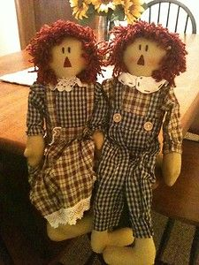 Raggedy Ann & Andy...
