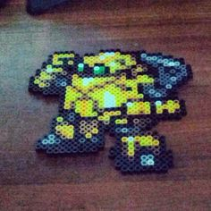 Robo from Chrono Trigger perler creation by me... For my friend Joe who requested it.
