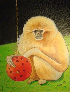 30 Awesome Paintings of Monkeys | SMOSH