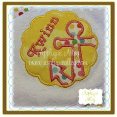 Free Shipping Anchor Circle/Scallop Patch by CarsynsRibbonsBows, $19.00