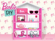 With fun (and functionality!) you can create a fab dollhouse-bookshelf duo!