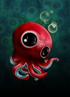 Mr Octopus by Danila Peroni | Displate