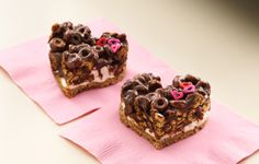 Try a recipe using Chocolate Cheerios* cereal. Valentines Food, Valentine Cookies, Chocolate Treats, Chocolate Recipes, Cheerios Recipes, Bulk Food, No Bake Cake, Yummy Food, Yummy Recipes