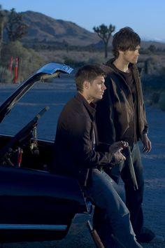 ~ Jensen Ackles (Dean Winchester) Jared Padalecki (Sam Winchester) - Supernatural ~
