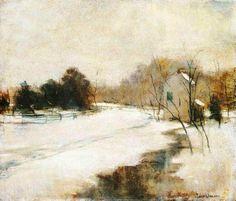 john henry twachtman paintings | Winter in Cincinnati