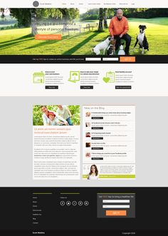 Another sample of a hub site that we created for a client