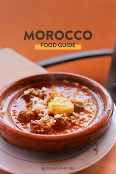 Morocco was full of flavors that were new to us. Here are 21 Moroccan foods to try when visiting Morocco (depending on how adventurous you like to eat). Morocco Beach, Visit Morocco, Morocco Travel, Africa Travel, Aesthetic Food, Foodie Travel, Moroccan, Breakfast Recipes, Meals
