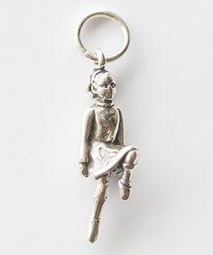 Look at this #zulilyfind! Five Little Birds Jewelry Sterling Silver Irish Dancer Charm by Five Little Birds Jewelry #zulilyfinds