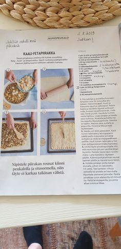 Kaalijauhisfetapiiras HYVÄ Feta, Bread, Brot, Baking, Breads, Buns