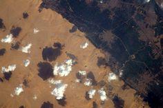 Thomas Pesquet, Astronaute français sur l'ISS : Pyramides de Gizeh, Le Caire, Egypte (12/02/2017)