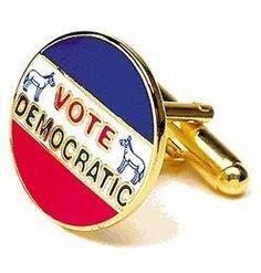 Cufflinks - Vintage Democratic