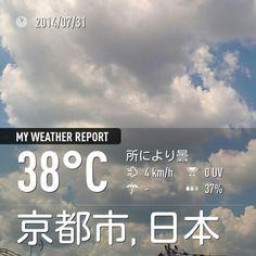 とにかく暑い。。。