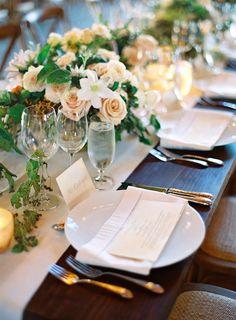 Elegant Carmel Wedding with Photography by Jose Villa, II  Read more - http://www.stylemepretty.com/2014/02/06/elegant-carmel-wedding-with-photography-by-jose-villa-ii/
