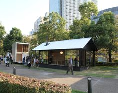 for the occasion of tokyo design week, the japanese product designer has created his idea of peacefulness in the form of a weekend hut. Prefab Cottages, Prefab Homes, Modern Architecture House, Japanese Architecture, Muji Hut, Wooden Hut, Naoto Fukasawa, Tokyo Design, Affordable Housing