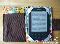Seven Sisters: The Cutest DIY Kindle Cover
