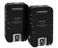Yongnuo YN-622 C e-TTL II Funk-Blitzauslöser für Canon und Yongnuo