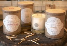 Linnea's Lights Hand-Poured Soy Candles by funnel / eric kass, via Flickr