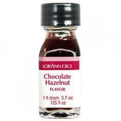 LorAnn Super Strength Flavor - Chocolate Hazelnut - 3.7ml - Geconcentreerde Smaakstoffen - Smaakstoffen - Ingrediënten - producten   Deleukstetaartenshop.nl
