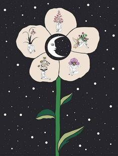 Mujer, Luna, Tierra
