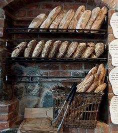 Fol Epi Organic Bread and Pastry, Agrius Restaurant - Victoria, BC Bread Bun, Bread Rolls, Croissants, Corner Bakery, Small Bakery, Bakery Display, Bakery Store, Bakery Interior, Rustic Bread