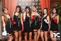 night e cia - - Burlesque Bachelorette Party, Burlesque Theme Party, Bachelorette Party Planning, 50th Party, Birthday Party Themes, Cabaret, Gatsby, Festa Pin Up, Clever Costumes