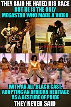True MJ loved his black people  The girls in his video were almost always blacķ. His background dancers also. Even his producer.
