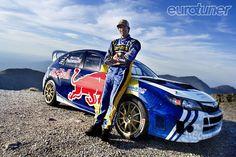 Travis Pastrana and his Red Bull liveried Subaru Impreza Subaru Wrc, Subaru Rally, Rally Car, Subaru Impreza, Wrx Sti, Nitro Circus, Triumph Motorcycles, Monster Energy, Ducati