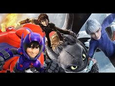 The Protectors Trailer. Jack, Hiccup, and Hiro!