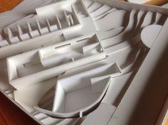 Koshino house concept model - Tado Ando arch (by me) Tado Ando, Koshino House, House 3d Model, Water Temple, Architecture, Sculpture, Models, Home, Decor