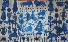 Cornelia O'Donovan – Telling Stories – The Art Shop & Chapel Textiles, Fairytale Fantasies, Fashion Painting, Telling Stories, Pattern Art, Illustrations Posters, New Art, Oil On Canvas, Folk Art