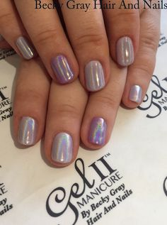 #gelii #manicure Mary go berry and orchid #magpieglitter aurora #showscratch #tcbg