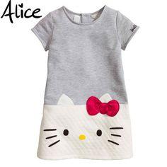 Hello Kitty Baby Girls Dresses Kids…