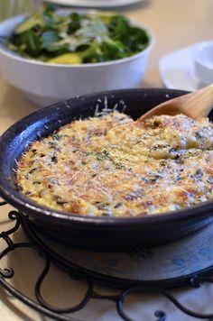 Casserole de riz sauvage aux champignons, fromages, oeufs - Wild rice casserole | Heidi Swanson