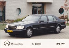 Mercedes-Benz S-Class (Dutch, RAI 1997)