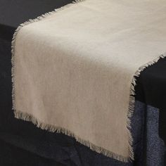 12.5 x 120 inch Linen Polyester Table by BurlapAndSilkCompany