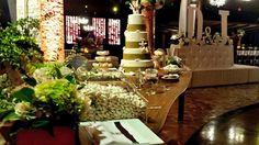 La mesa de dulces...