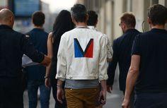#streetstyle   #louisvuitton   #denimjacket   #whitedenim