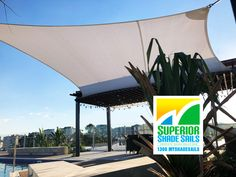 Shade Sail for the roof top and pool area of this luxury apartment building in West End, Brisbane using the Rainbow Z-16 cloth fabric. The Z-16 holds an unrivalled reputation for durability, UV-R protection and quality. For an obligation free quote call us on 1300MYSHADESAILS or 0429 220 298. #superiorshadesails #poolshadesails #rainbowz16shadesails #brisbaneshadesails #keepcoolinthepool