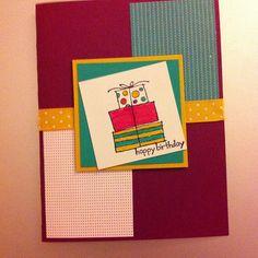 Handmade birthday card! Some people still make and send them! So special! @eunicesuperstar - @luillo- #webstagram