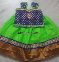 Green Blue Skirt Available - Indian Dresses