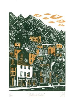 linocuts, screen-prints and all the things that I create and call 'art'...