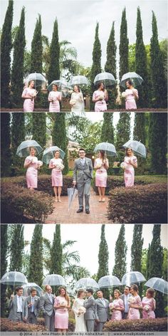Don't let the rainy weather dampen your special day. Here's a wedding day weather-contingency plan!
