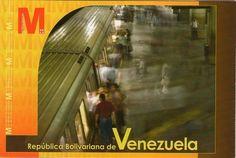 Postal: Estacion Plaza Venezuela (Venezuela) (Ipostel - Metro de Caracas) Col:ve_ipostel_MC_01