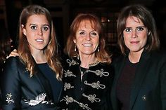 (L to R) Princess Beatrice of York, Sarah Ferguson, Duchess of York and Princess Eugenie of York attend the launch of The Ned, London on April 2017 in London, England. (Photo by David M Benett/Dave Benett/Getty Images for The Ned London) Sarah Ferguson, Fergie Ferguson, Princess Beatrice Wedding, Princess Eugenie And Beatrice, Prince William And Kate, Prince Harry And Meghan, Prince Andrew, Prince Philip, Duchess Of York
