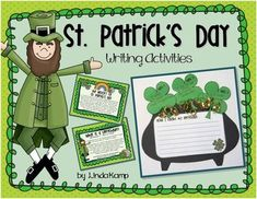 St. Patrick's Day: St. Patrick's Day writing:  writing craft: St. Patrick's Day minilessons: bulletin board displayThis St. Patrick's Day writing craft makes a great March hallway display! It includes mini-lessons and visuals for  teaching the history of St.
