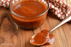 Slimming Eats Syn Free BBQ Barbecue Sauce - gluten free, dairy free, vegetarian, paleo, Whole30, Slimming World and Weight Watchers friendly