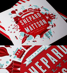 Letterpress Impressions via Ty Mattson and #goodeyedesignblog